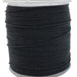 fil cordonnet lin 432 noir