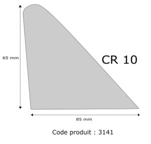 Profil mousse agglomérée CR10