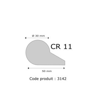Profil mousse agglomérée CR11