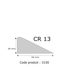 Profil mousse agglomérée CR13