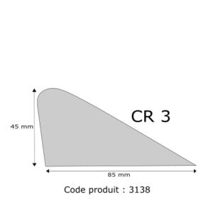 Profil mousse agglomérée CR3