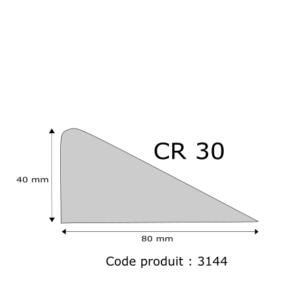 Profil mousse agglomérée CR30