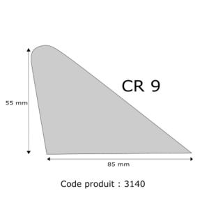 Profil mousse agglomérée CR9