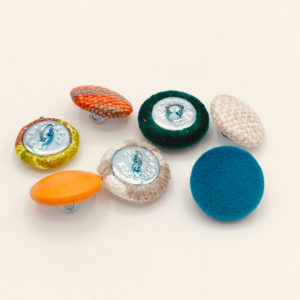 boutons capitons pour tissu matelasse