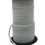 Sandow marine 8mm rayé blanc-noir