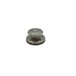 Loxx bouton laiton nickelé