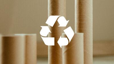 Nous recyclons vos emballages carton, tubes et mandrins